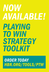 now available playing to win strategy toolkit